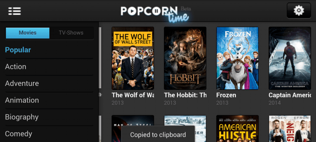 "Popcorn Time's ""Netflix for Torrents"" Is Coming to Chromecast"