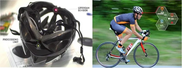 """Este casco """"inteligente"""" controlará tu actividad física sobre la bicicleta"""
