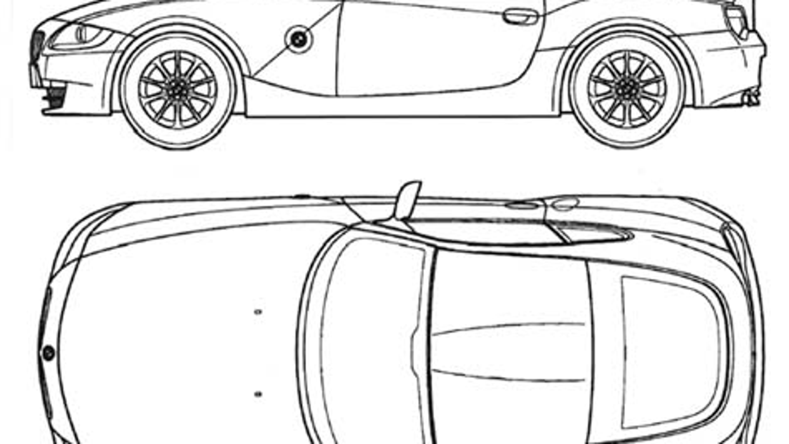 James May Wants You To Colour This Z4 Coupe