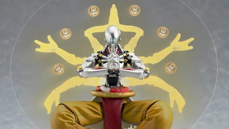 Zenyatta Overwatch Figure Comes With All The Glowing Orbs