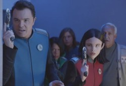 What on the earth is Seth MacFarlane's sci-fi collection The Orville imagined to be?