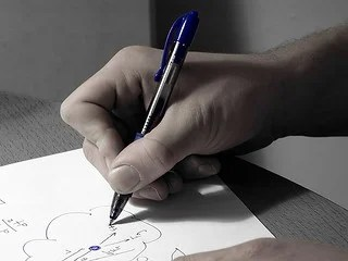 Loosen Up Your Writing Grip to Banish Pain