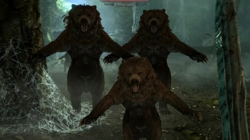 Skyrim Now With More Bears