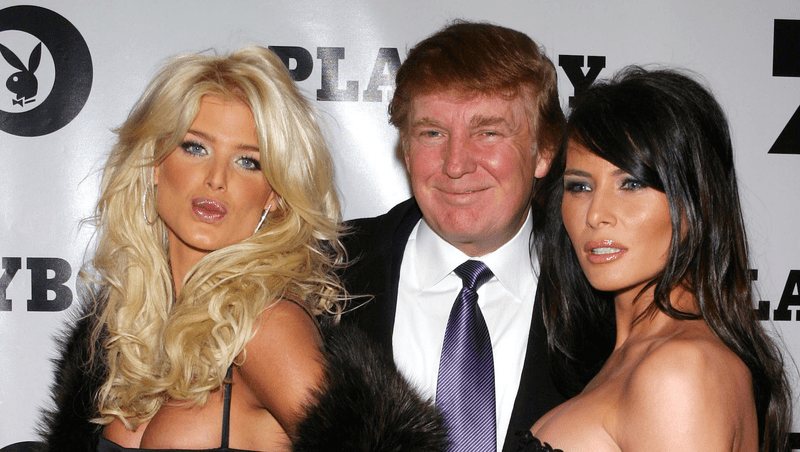Image result for Trump in playboy