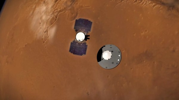 Magnetic Field on Mars Mysteriously Pulses at Night, NASA