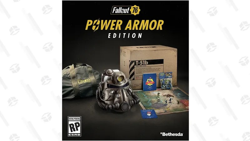 Preorder Fallout 76 Power Armor Edition Before It