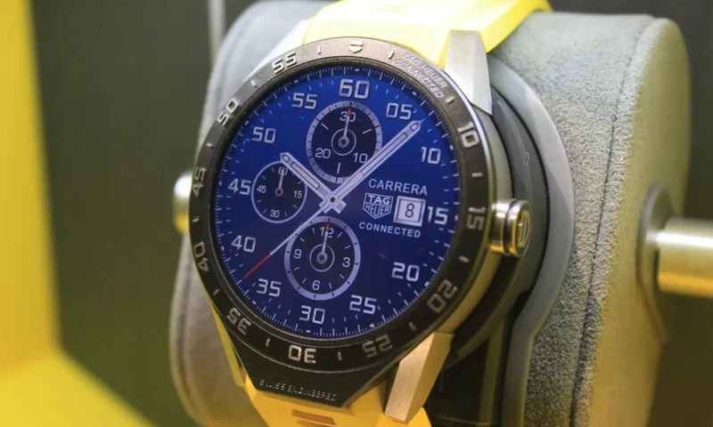 So This Is What a $1500 Android Wear Watch Looks Like