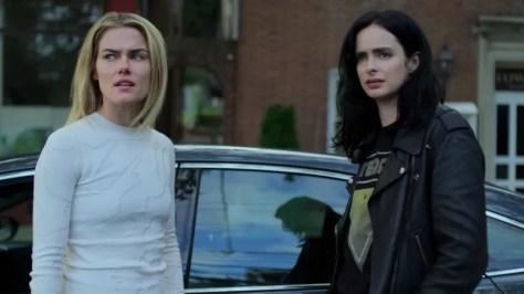 Krysten Ritter & Rachael Taylor in Jessica Jones S3