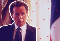 Martin Sheen doesn't assume movie star qualifies you for the presidency
