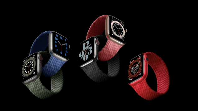 bqkopamxi0zzrxtofnai This Is the Apple Watch Series 6 and This Is Its New Friend, the Apple Watch SE | Gizmodo