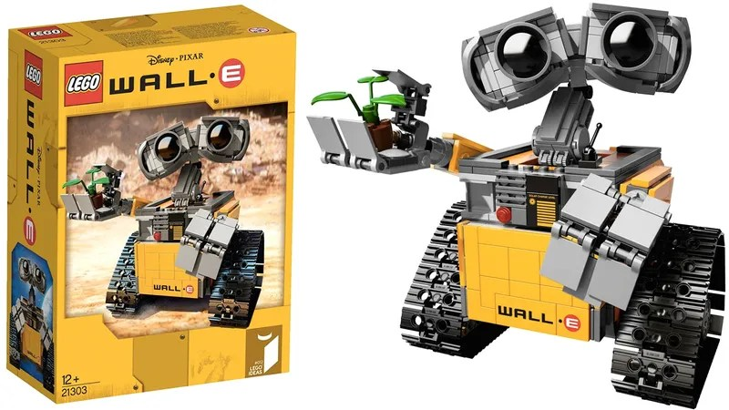 The first images of Lego s upcoming WALL   E set are unbelievably adorable
