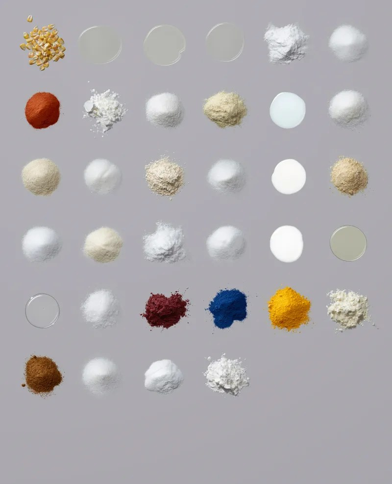 These are the ingredients and additives inside your favorite foods