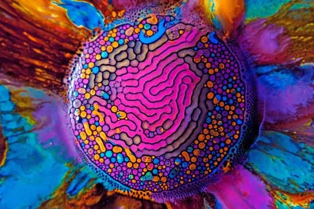 Technicolor ferrofluids are a magnetic acid trip