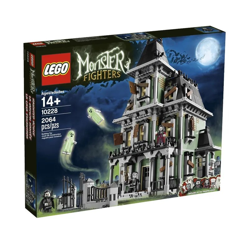 The Empress Reviews  Lego Monster Fighters Haunted House I actually got this set back on my birthday in September but since it s  Halloween I decided today is the perfect day to review this set