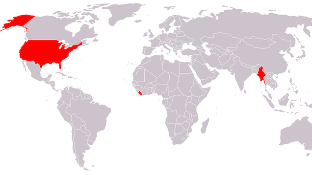 These Are the Three Countries Who Don't Use the Metric System