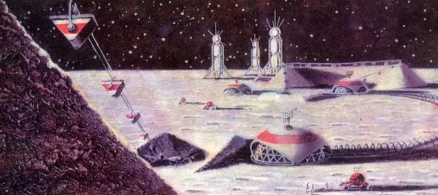 How Soviet Artists Imagined Communist Life in Space