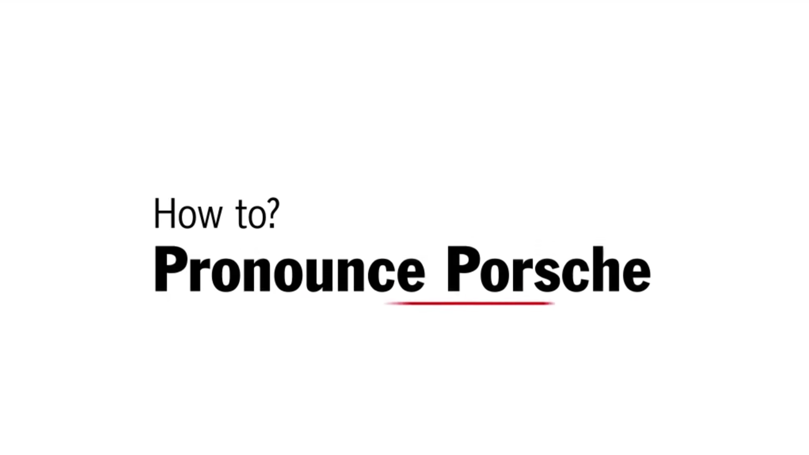 About Goddamn Time Porsche Made A Video Showing Idiots
