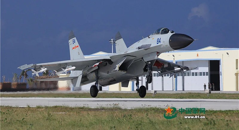 Chinese J-11 Fighters Deployed To Woody Island In South China Sea