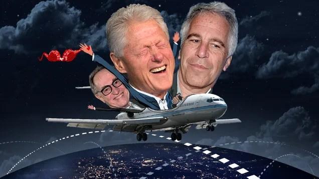 Flight Logs Put Clinton, Dershowitz onPedophileBillionaire's Sex Jet