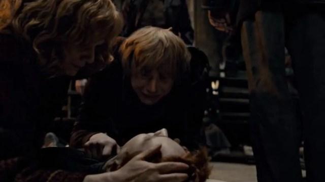 Image result for fred weasley death scene