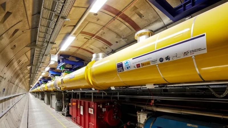 Image result for world's biggest X-ray laser gun