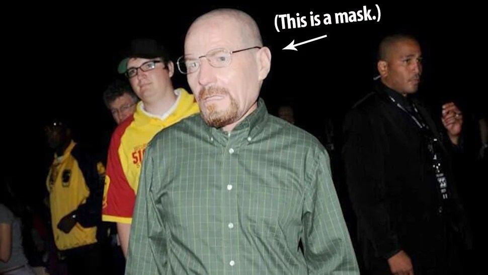 Breaking Bad Lead Actor Cosplayed As His Own Character At