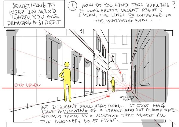 Tips for Drawing Backgrounds