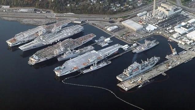 Comment l'État de Washington pourrait se transformer porte-avions Into Bridges