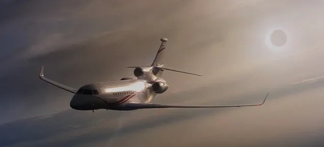 A Solar Eclipse Is Best Viewed From A Private Jet In The Stratosphere