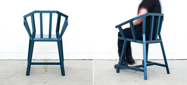 An Elegant Angular Take on an Old Stick Chair