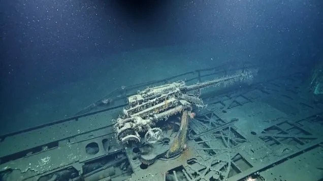 Spooky underwater photos reveal Nazi submarine off the coast of Texas