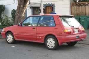1987 Toyota Corolla FX16 GTS