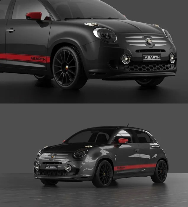 This Four-Door Fiat 600 Abarth Concept Is Something We Can Get Behind