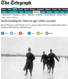 """No, We Aren't Heading Into a """"Mini IceAge"""""""