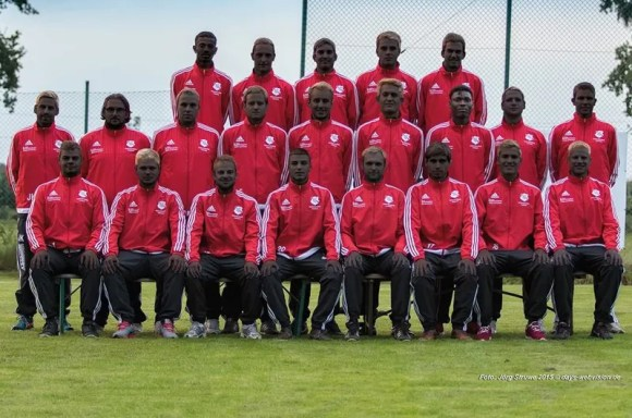 Well-Meaning German Soccer Team Protests Racism ... With Digital Blackface