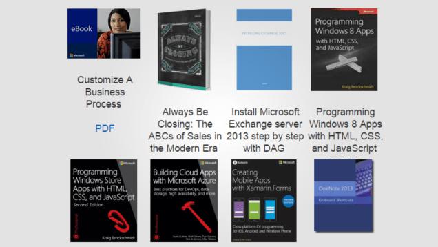Descarga gratis 240 nuevos libros y manuales técnicos de Microsoft
