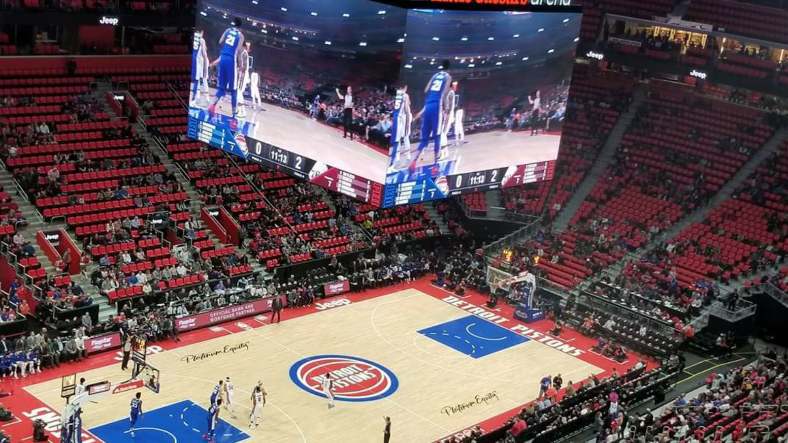Pistons Home Games Are Already Attendance Disasters