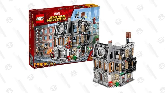 fwrudzuizds3esfyltaq Master the Mystic Arts In Doctor Strange's LEGO Sanctum Santorum For $70 | Gizmodo
