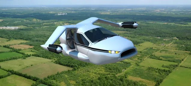 Flying Cars Are Just Two Years From Reality ¯\_(ツ)_/¯