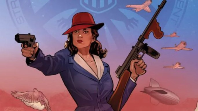 Image result for peggy carter comics