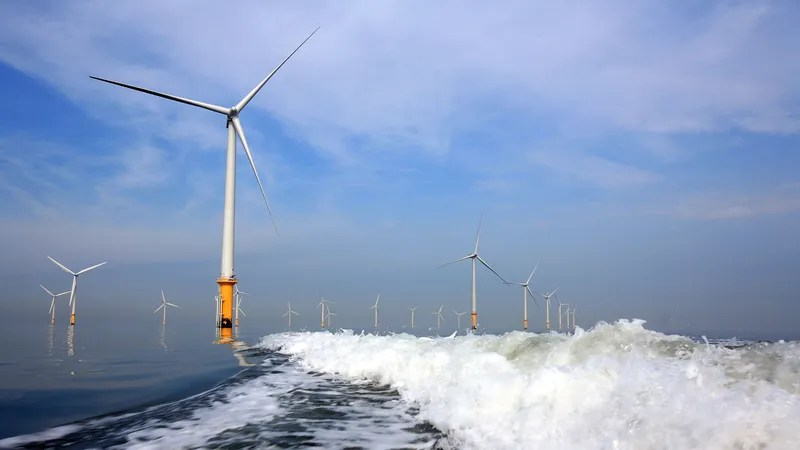 Illustration for article titled The World's Largest Offshore Wind Farm Just Came Online