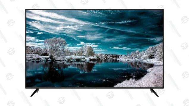 u6k9hbwln18uzhjuelnb Stay Cozy Inside This Winter With a $500 Sharp AQUOS 70-inch 4K Smart TV | Gizmodo