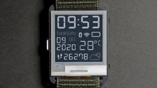 aneusxsoigfg569dmxyk The Watchy Is an Open-Source Smartwatch for Those Who Miss the Pebble | Gizmodo