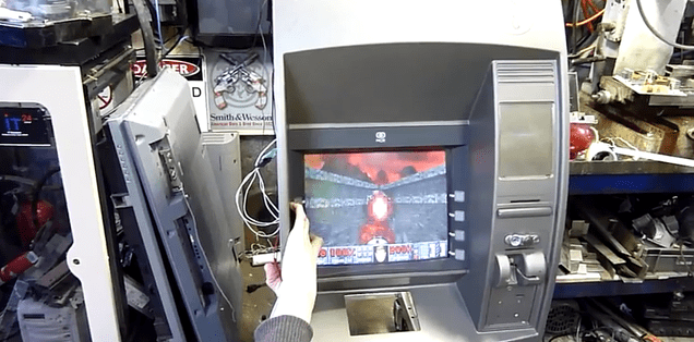 This ATM That Plays Doom Would Make Trips to the Bank So Much Better