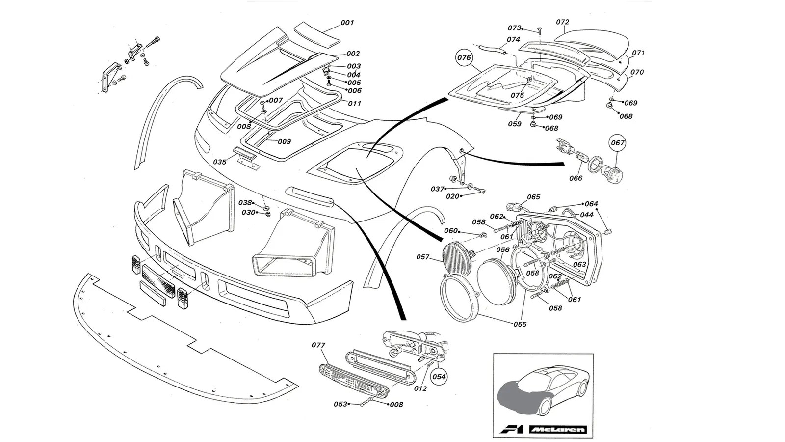 This Workshop Manual Comes Handy If You Have A Mclaren F1 Gtr