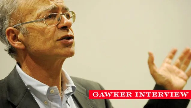 How to Save Lives: A Conversation With Peter Singer
