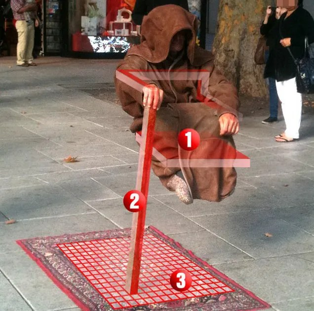 This Street Performer Has Mastered One of the Greatest Illusions
