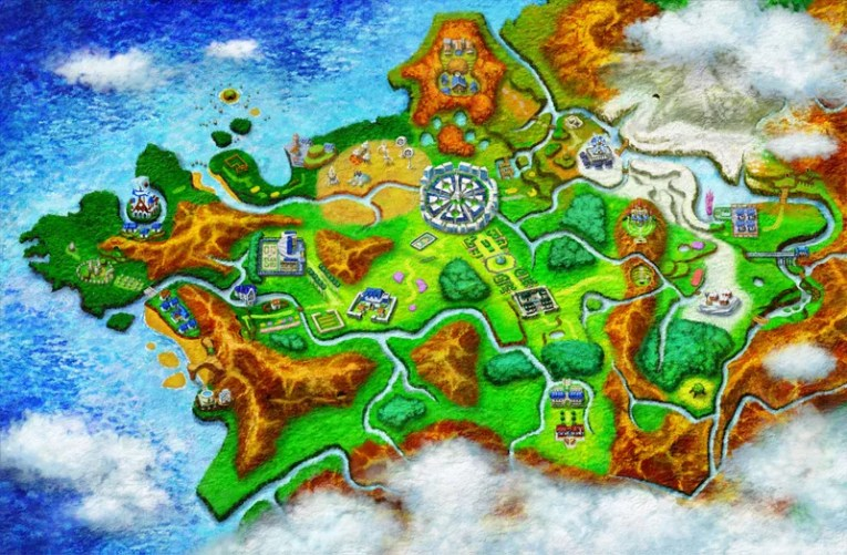 Every Pok    mon You Can Catch In X   Y  In One Handy Map Sure  you could look at your in game Pokedex to figure out what s located  where   but not only do you have to encounter a Pokemon first to access  them there