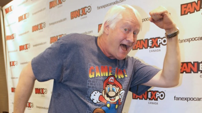 Charles Martinet now holds a Guinness record for voicing Super Mario 100 times