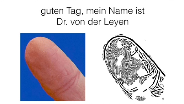 Hackers Reproduce A German Politician's Fingerprint From Photos